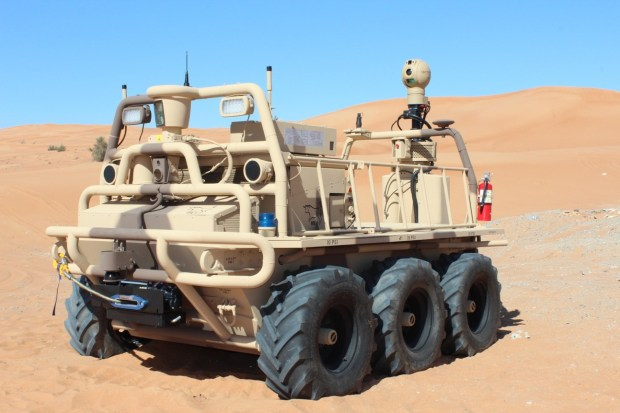 Squad Mission Support System, or SMSS, uses Lockheed Martin technology to autonomously do mundane tasks for the military.
