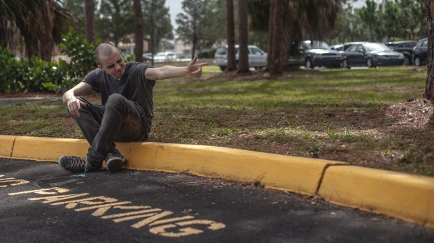 """A still from the 2016 independent film """"Dark Night,"""" loosely based on the Aurora theater shooting, which will have its Colorado premiere on Feb. 24 at the Alamo Drafthouse Littleton."""