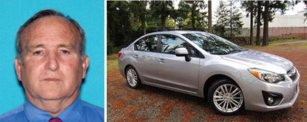 Left: Richard Hammond; right: 2012 Subaru Impreza sedan
