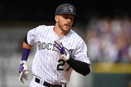 Trevor Story may be the next star to be traded.