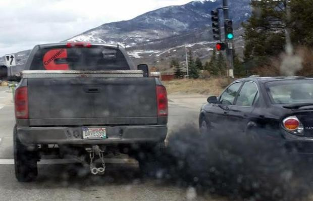 "Colorado House Bill 1102 would prohibit the ""excessive exhibition of smoke"" by drivers."