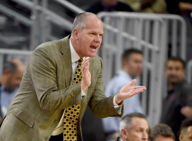 Head coach Tad Boyle of the ...