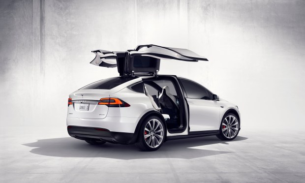 The Tesla Model X debuted in 2016 with Autopilot, a feature that lets drivers let the car handle some minor driving duties. But this is still Level 2 automation so drivers must still pay attention to the road.