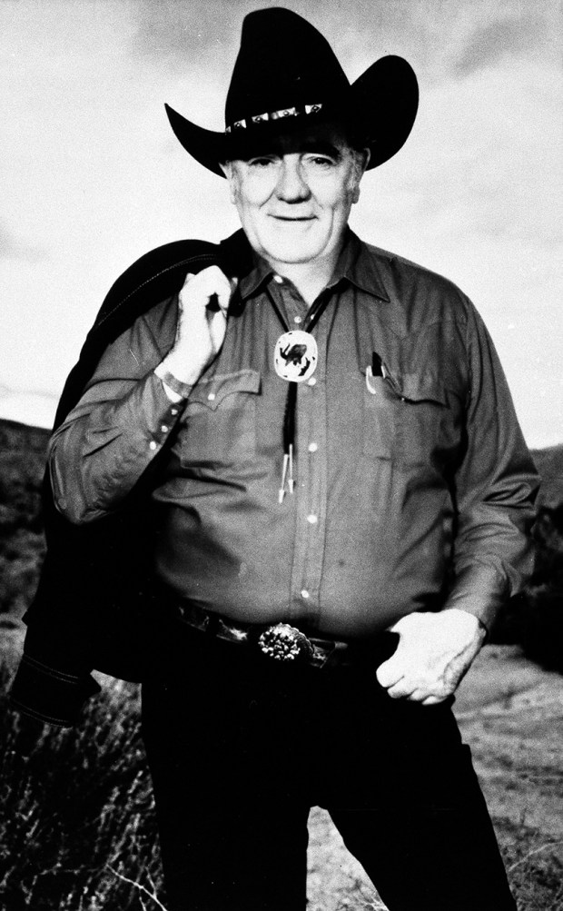 Louis L'Amour wrote nearly 100 novels during his career, most of them Westerns.