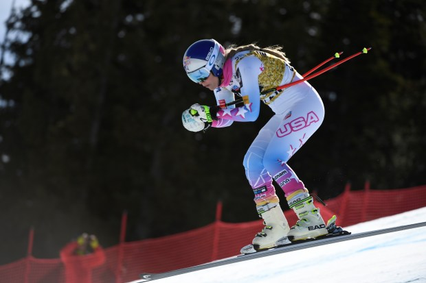 Lindsey Vonn, USA, picks up speed ...