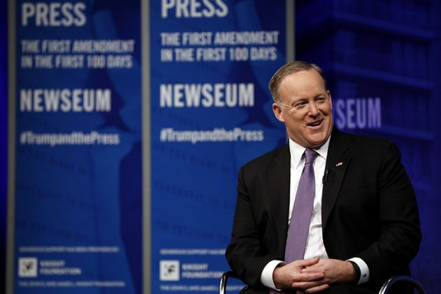 Sean Spicer's apology for saying Hitler didn't use chemical weapons on Jews is strikingly uncharacteristic of the Trump White House in general, and Spicer in particular.