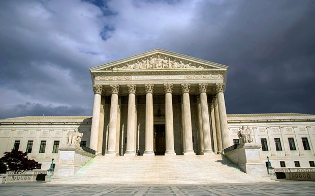 The U.S. Supreme Court building on March 31, 2012.