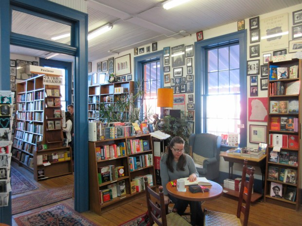Square Books, a bookstore in Oxford, Miss. The store offers a well-curated selection of books about the region, including works by the town's most famous resident, the late novelist William Faulkner.
