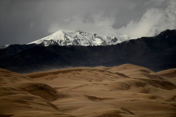 HOOPER, CO - April 31: Sand ...