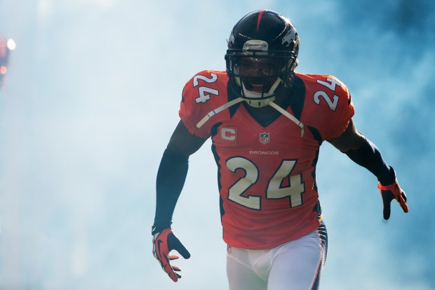 Cornerback Champ Bailey emerges from the ...