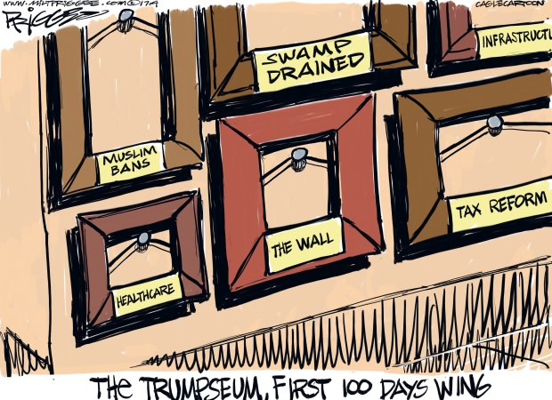 newsletter-2017-05-01-trump-first-100-days-cartoon-priggee