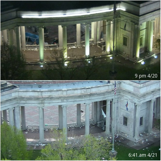 Greek amphitheater at Civic Center Park