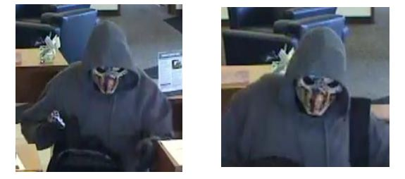 An armed bank robber, wearing a hoodie and a mask, robbed a Wheat Ridge bank Friday and fled in a van.
