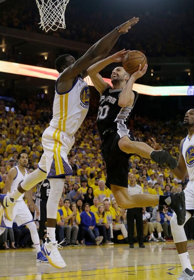 San Antonio Spurs guard Manu Ginobili ...