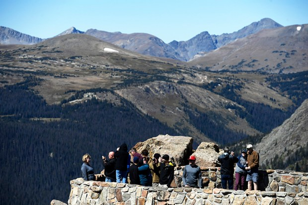 A record-breaking 4.5 million people visited Rocky Mountain National Park last year.