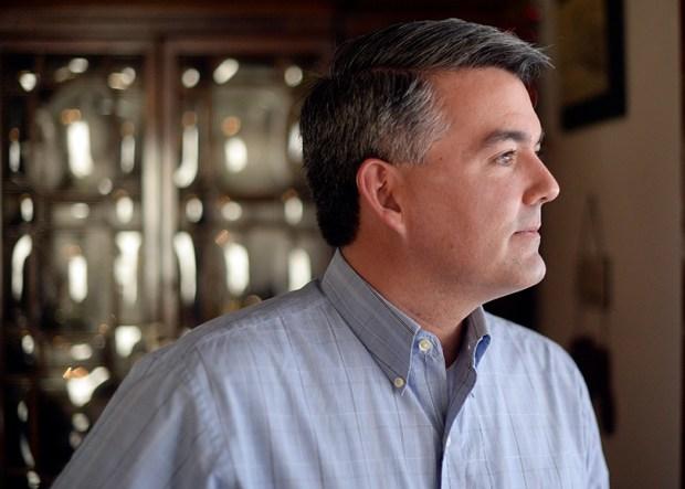 Sen. Cory Gardner, R-Colo.