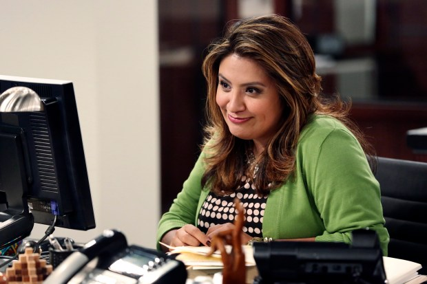 """Comedian Cristela Alonzo appears in ABC's short-lived sitcom """"Cristela"""" in 2014. Alonzo uses stereotypes about Hispanics and Cinco de Mayo in her stand-up comedy."""