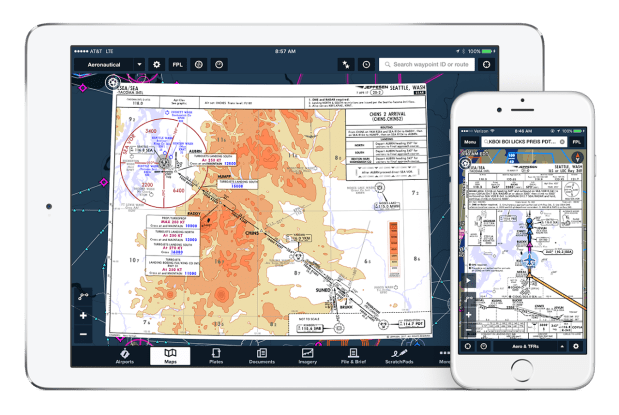 Jeppesen Sanderson, the Englewood division of The Boeing Company that makes aviation terminal charts, has partnered with ForeFlight, an Austin, Tex. flight planning app for individual pilots.