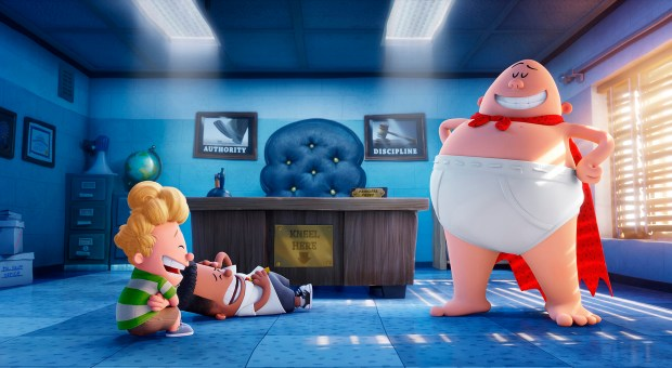 """""""Captain Underpants: The First Epic Movie."""""""