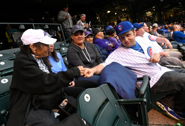 Longtime Colorado Rockies fan Mabel Miyasaka, ...