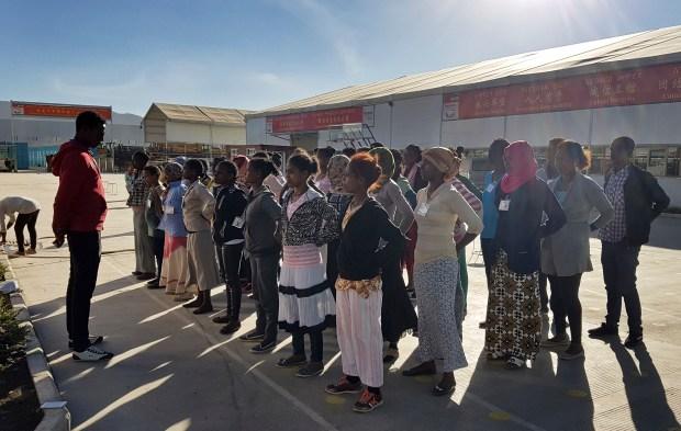 Image result for ivanka trump in ethiopia