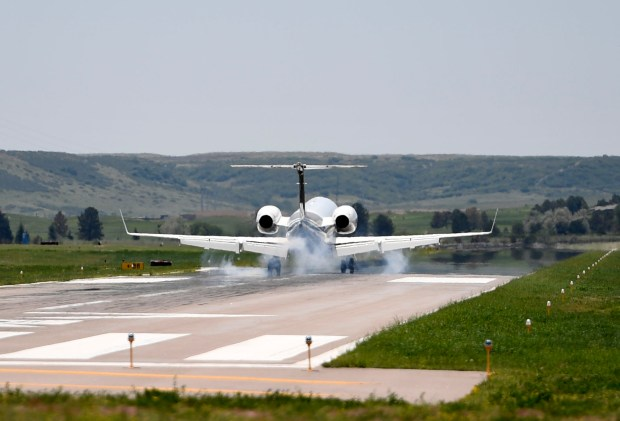 Centennial Airport on June 9, 2017. Advocates for Colorado's multibillion-dollar noncommercial aviation industry are warning that President Donald Trump's plan to privatize and modernize the nation's air-traffic control system could make it more expensive for the state's private and business aviators to take to the skies.