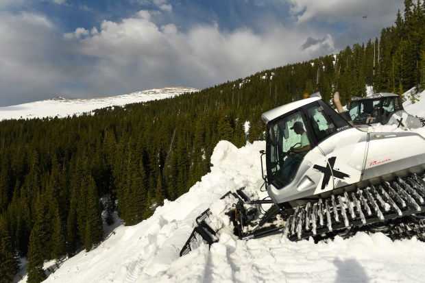 Snowcat driver Jeremy Straley, owner of ...