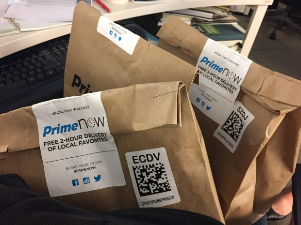 We tried Amazon's Prime Now in Denver  Here's what you need to know