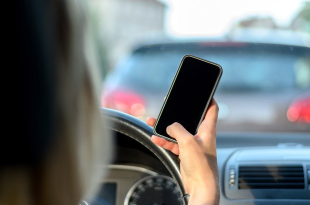 texting and driving photo for letter