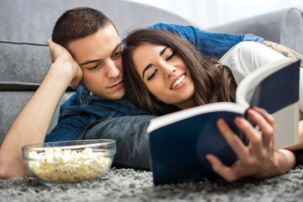 instead of movies read a book