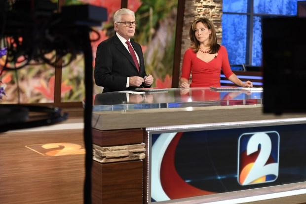 Mike Landess and Deborah Takahara. Anchor ...