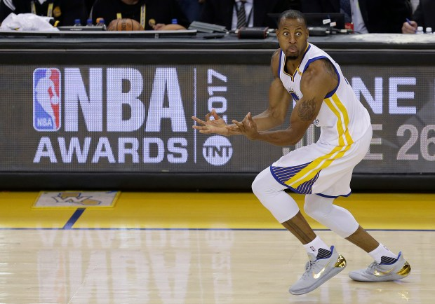 Golden State Warriors forward Andre Iguodala ...