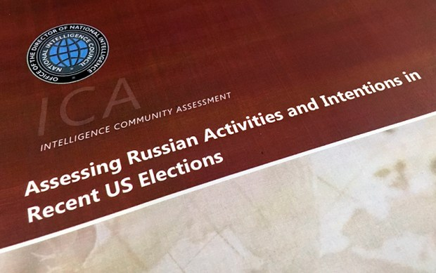 According to the Intelligence Community Assessment on Russia's efforts to interfere with the 2016 presidential election, Vladimir Putin ordered a campaign to influence the election in favor of Donald Trump.