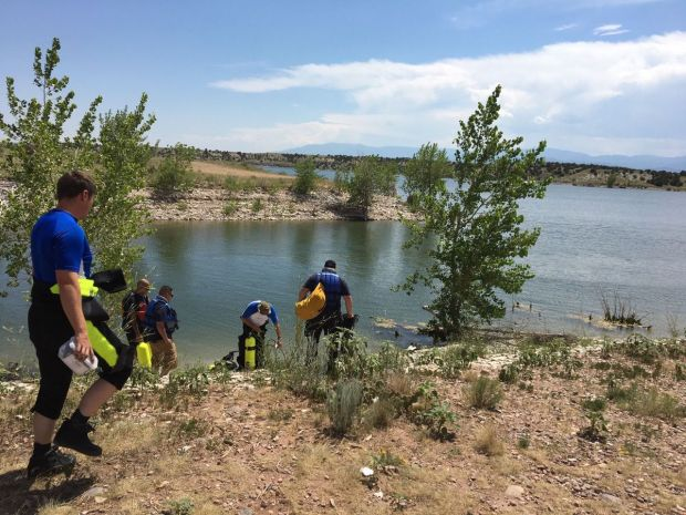The body was found in the area the search was being conducted about 25 feet deep in the lake.