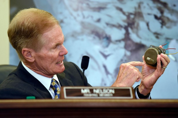 File photo, Sen. Bill Nelson, ...
