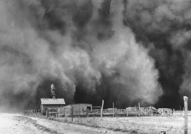 Garden City Dust Bowl Kansas