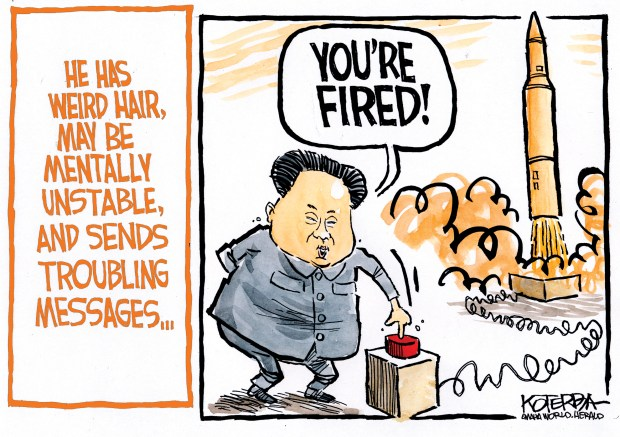 Drawn To The News North Korea Missile Test