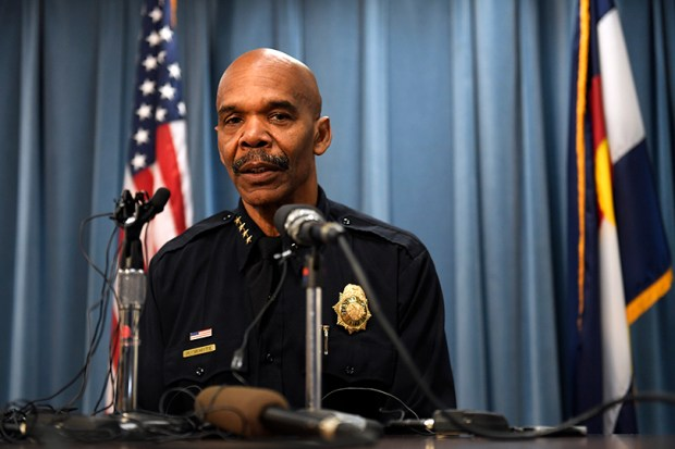 Denver Police Chief Robert White speaks ...