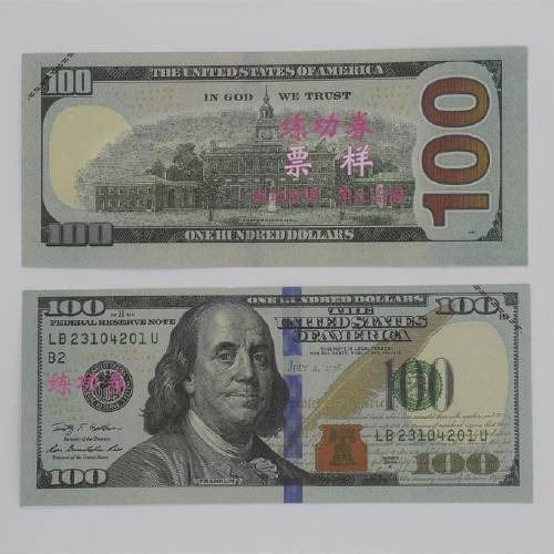 Strange Counterfeit (Fake) 100$ Bill - What is With This ...