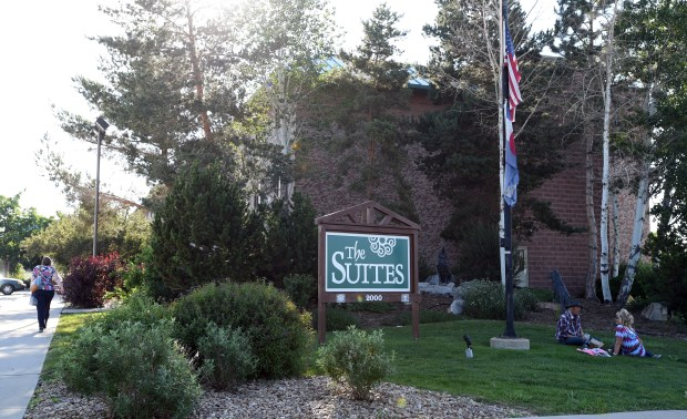 The Suites building in Longmont on ...