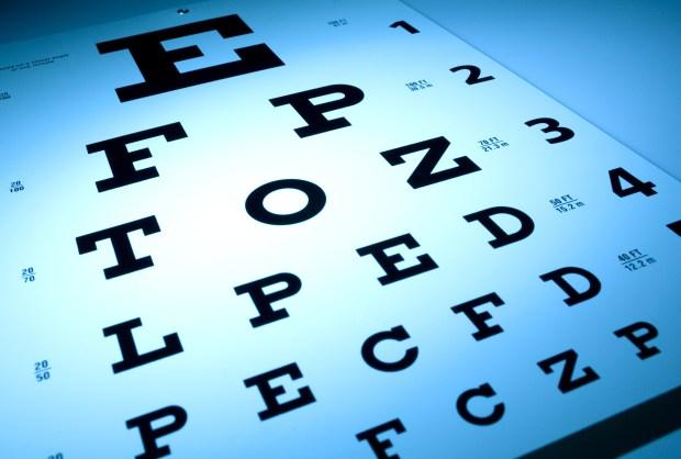 eye chart garrison keillor column