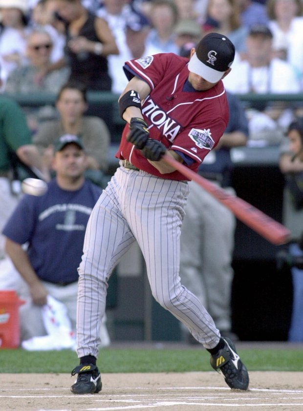 Colorado Rockies' Todd Helton