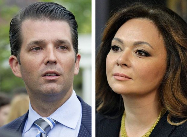Donald Trump Jr. Russian lawyer NataliaVeselnitskaya.