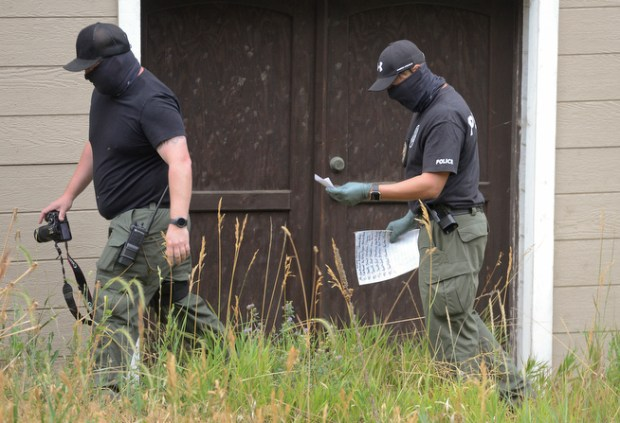 Drug agents seize 240 marijuana plants from suspected grow operation in Boulder Canyon
