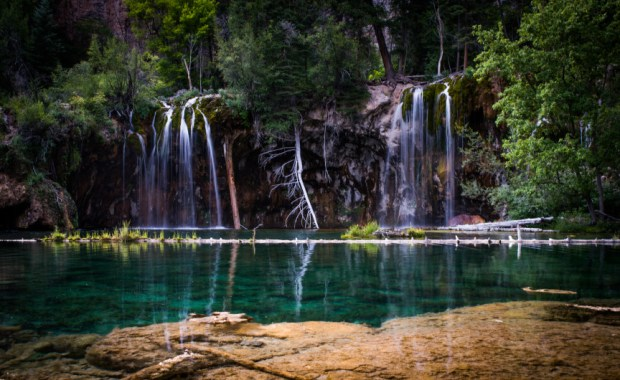 Last year, 150,000 visitors hiked up the 1.2-mile path to see Hanging Lake outside Glenwood Springs.