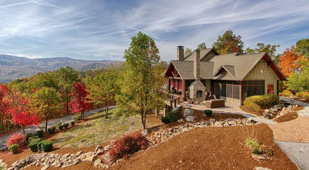 Smoky Mountain National Park: The 2007 Craftsman-style house in a gated community in Gatlinburg, Tenn., is listed at $1,999,000.