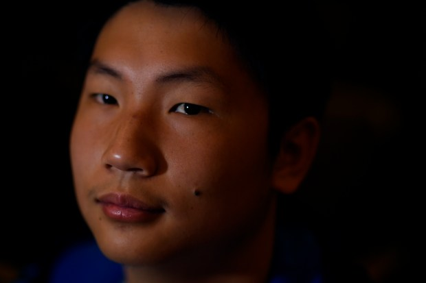 Fuwei Huang's family left China in 2012 so he could have a better future.