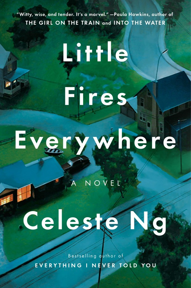 """""""Little Fires Everywhere"""" by Celeste Ng"""