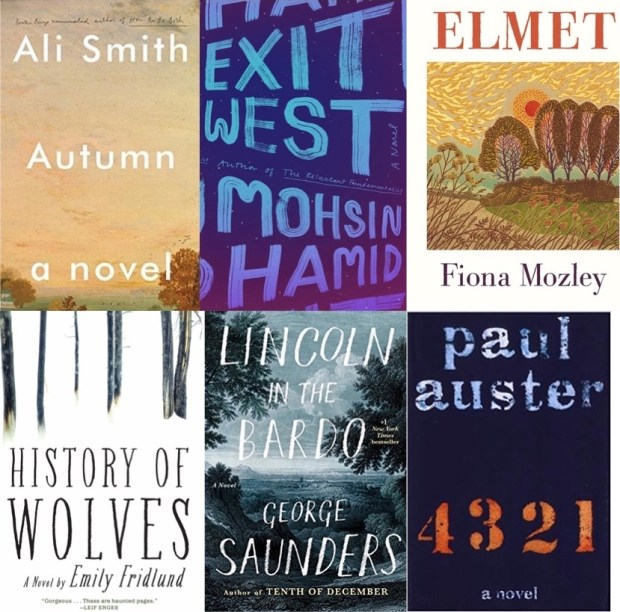 Collage of Man Booker Prize shortlist ...