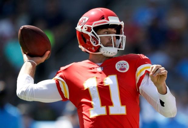 Kansas City Chiefs quarterback Alex Smith ...